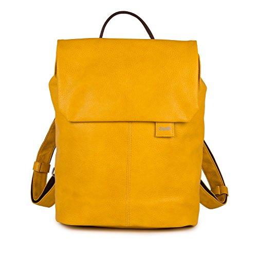 zwei Mademoiselle MR13 Damen-Rucksack 37 cm, yellow -