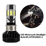 #5: Rawat Bike Led Headlight Bulb H4 35W 12V/Water Resistan/3D 6 Led