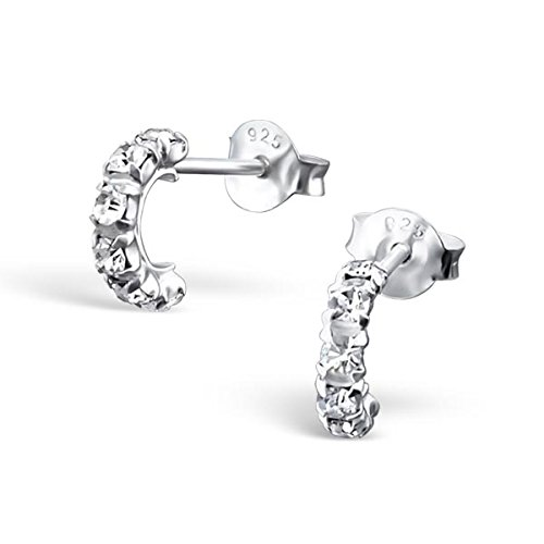 si-si-select-925-sterling-silver-earrings-small-half-hoop-cz-studs-8mm-free-gift-box