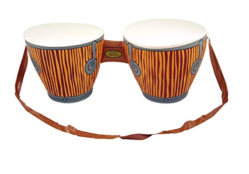 Imagen de hinchable bongo batería africano tropical playa disfraz hawaiian luau