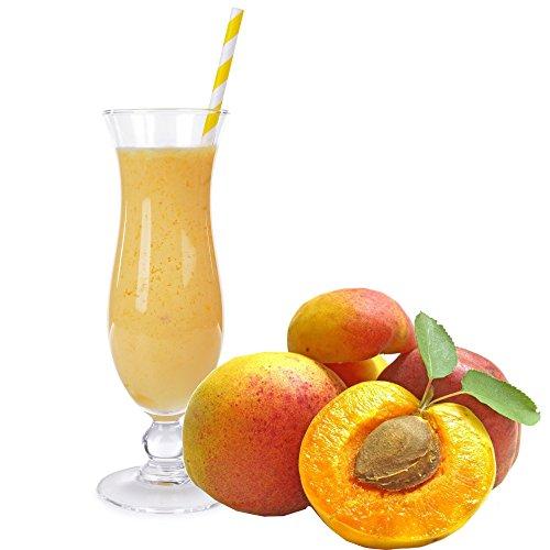 Pfirsich Geschmack Eiweißpulver Milch Proteinpulver Whey Protein Eiweiß L-Carnitin angereichert Eiweißkonzentrat für Proteinshakes Eiweißshakes Aspartamfrei (200 g)