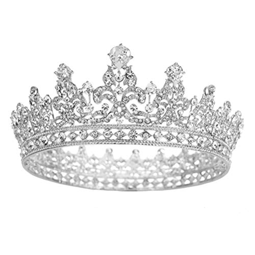 Estilo Europeo Crown Headwear Novia Wedding Tiara Tocado de...