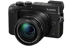 Panasonic DMC-GX8MEB-K Lumix Compact System Camera with 12-60 mm Lens- Black