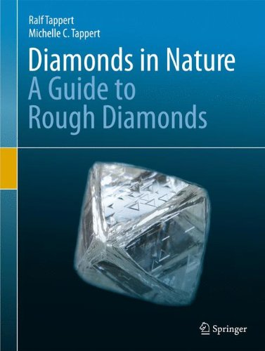 Diamonds in Nature : A Guide to Rough Diamonds par Ralf Tappert