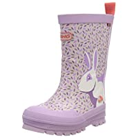 Viking Unisex Kids' Big Rabbit Wellington Boots, Purple (Lavender/Multi 6550), 8.5 UK