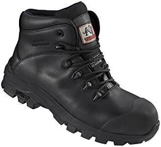 Rock Fall Botas de Seguridad – Negro, Negro, TC1070 Denver 9, 0 voltsV