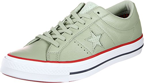 Converse One Star OX Schuhe Sage/Gym Red/White One Star Schuhe