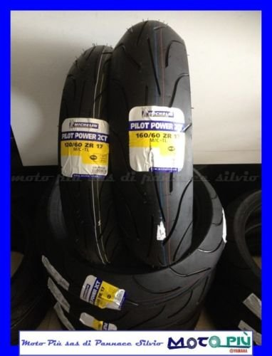 Paar Reifen Reifen Michelin Pilot POWER 2 CT 120/60 - 17 160/60 - 17 2018
