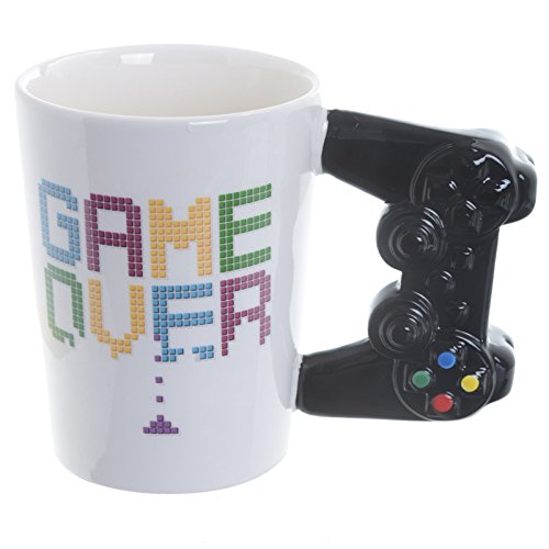 Taza Game Over mando de consola Original Graciosa Puckator