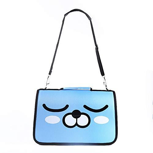 ZHAORLL Pet Outing Bag, Cat Special Bag, Tragbare Cartoon-Tasche, Cartoon-Zwinger, Hamsterkäfig, Verschiedene Muster/Farben / Spezifikationen,F,M