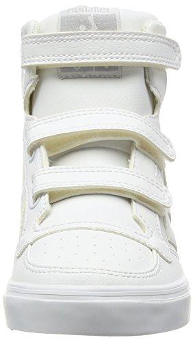 Hummel Stadil Tonal Jr Hi Unisex-Kinder High-Top Weiß (White 9001)