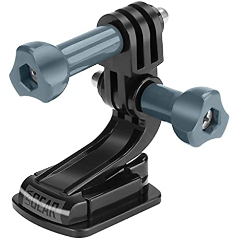 Soporte Adhesivo GoPro SJ4000 Skate Longboard Snow + Montura Cámara GoPro + Adaptador Universal – Compatible con GoPro HERO 4 3+ 3 2 QUMOX SJ4000 ¡Y muchas otras! Por USA GEAR
