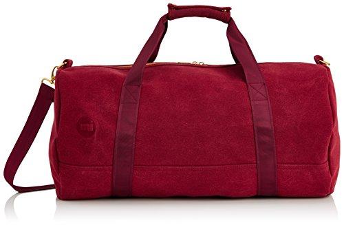 Mi-Pac Duffel - Bandolera, color Rojo (Burgundy/Burgundy)