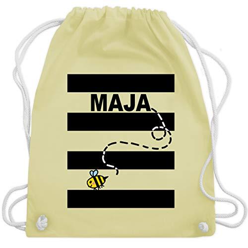 Karneval & Fasching - Bienen Kostüm Maja - Unisize - Pastell Gelb - WM110 - Turnbeutel & Gym Bag