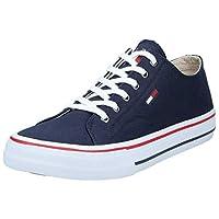 Tommy Hilfiger Classic Long Lace Men Sneakers, Blue (Ink), 10.5 UK (45 EU)