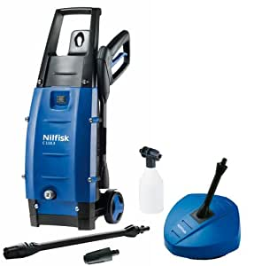 Nilfisk C110 3-5 PC X-Tra Pressure Washer Patio Cleaner Set with 1400 W Motor (Discontinued by Manufacturer)