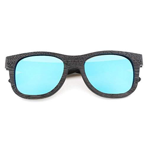 MXHSX UV400 Polarized Zebra Wood Sonnenbrillen/handgefertigte Brillen für Mann und Frau, besonders für Reisen, Outdoor-Sport und Aktivitäten, als Geschenk für Familie und Freunde (Farbe: Zebra n.