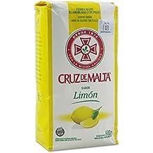 Yerba mate Cruz de Malta sabor limón 500g