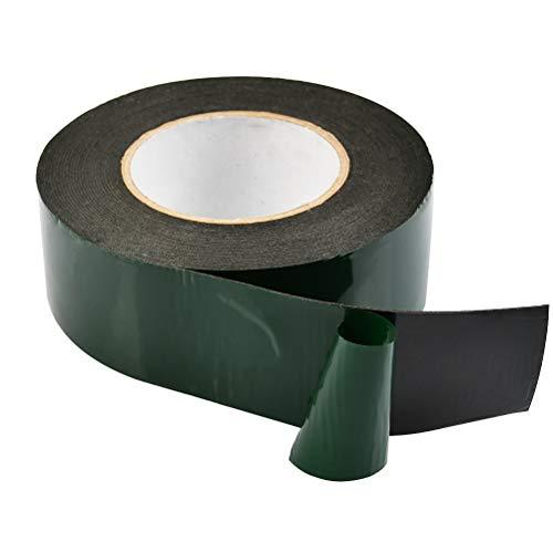Rietlow Doppelseitiges Klebeband Extra Stark Schwarzes Doppelseitiges Klebeband 25mm x 10m Universal Montageband aus widerstandsf/ähigem PE-Schaum