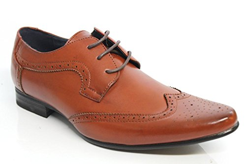 Route 21 - Brogue uomo Marrone (Tenné)