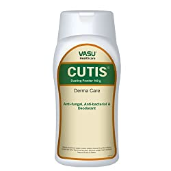 Vasu Healthcare Cutis Dusting Powder, 100grm