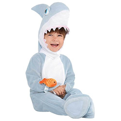 Shark Infants Fancy Dress Animal Costume (0-6 (Kostüme Beängstigend Kleinkind)