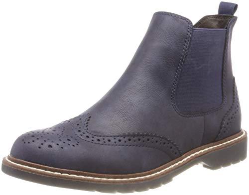 s.Oliver Damen 25444-21 Chelsea Boots, Blau (Navy 805), 41 EU (Boots Blau)