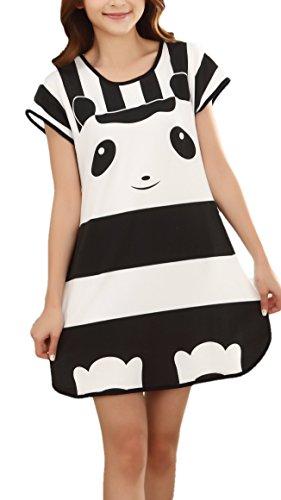 UtopyaUK - Chemise de nuit - Femme panda
