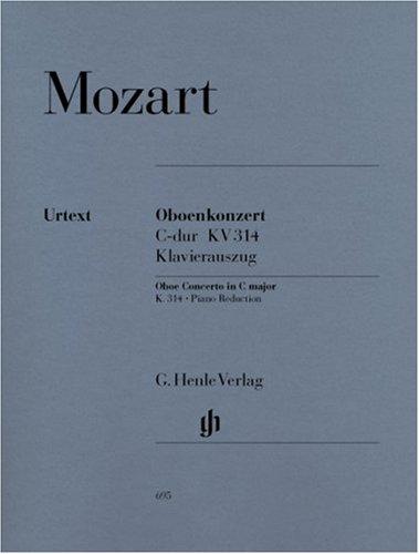Konzert C-Dur KV 314 (285d) Ob Orch. Oboe, Klavier