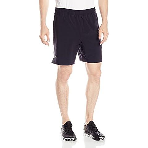 Under Armour Running–Pantaloni corti da uomo UA Perf 7pollici No Liner, Uomo, Running - Kurze hose Ua Perf 7 Zoll No Liner Shorts, nero, XL