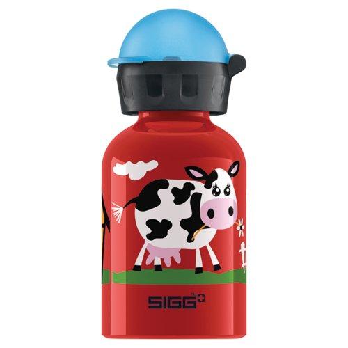 Sigg Trinkflasche SIGG Kids Collection Barnyard Fun, rot, 8226.60, 300 ml