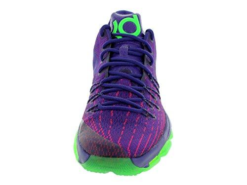 Nike KD 8, Scarpe da Basket Uomo purple and green