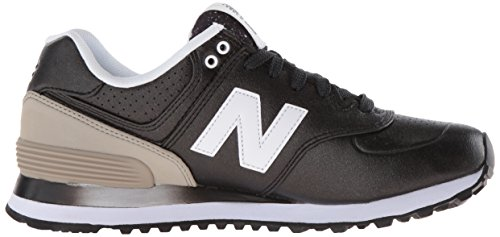 New Balance 574, Chaussures de Running Entrainement Femme Multicolore (Black/Grey 003)