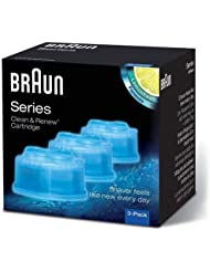 Braun Clean and Renew Refill Cartridges CCR, 3 Pack