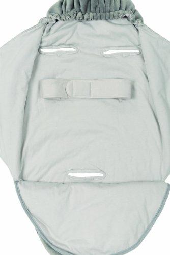 Candide 710360 Puck-Tuch mit Kapuze, grau