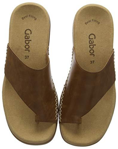 Gabor Shoes Damen Jollys Pantoletten, Braun (Peanut 24), 41 EU