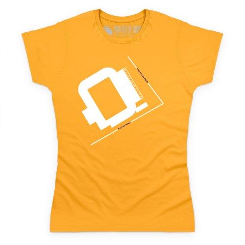 Elland Road T-Shirt, Damen Gelb