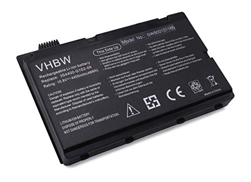 Batterie LI-ION 4400 mAh 10.8 V en noir black Convient comme 3S4400-G1S5–05, 3S4400-G1S5–05, s1s2, 3S4400-G1S5–05, 3S4400-S1S5, P55–3S4400-C1S5, 3S4400-G1S2–05, 3S4400-G1L3–05