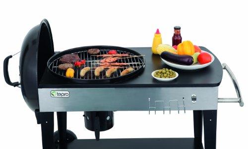 41wrc0j3DEL - Tepro Belmont Kettle Barbecue–Black