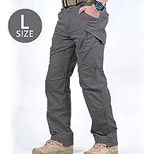 Y # x2605; IR táctico pantalones y # x2605;–de color caqui/marrón/negro/gris tamaño: hombres de m/l/xl/xxl–grandes bolsillos–Amazing elástico y dar–práctico a divertido–Durable, lavable Tela
