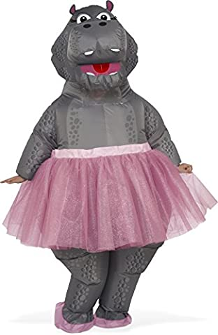 Adult Inflatable Hippo Fancy dress costume