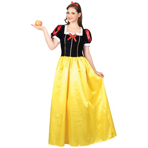 Fairy Tale Snow Princess Gorgueous Ladies Fancy Dress Costume
