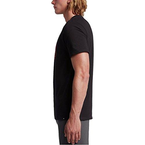 Hurley Herren T-Shirt Schwarz