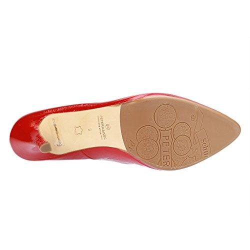 PETER KAISER - 78511/218 - Damen Pumps - Rot XXL Schuhe in Übergrößen Rot