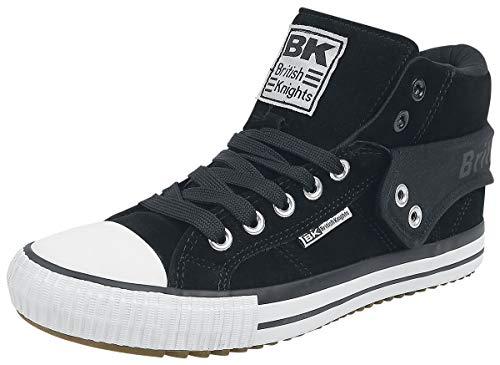 British Knights Herren ROCO Hohe Sneaker Schwarz (Blk 02) 45 EU
