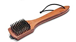 Weber 12-inch Bamboo Grill Brush and Scrapper