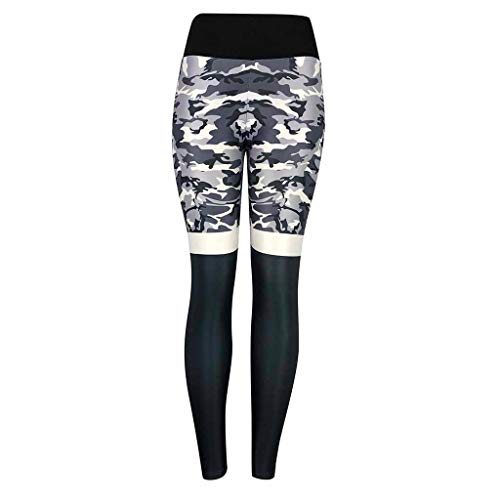 B-commerce 2019 Sport Yoga Gym Kurze Hosen Damenmode Camouflage hohe Taille plissee Outdoor Athletic ()