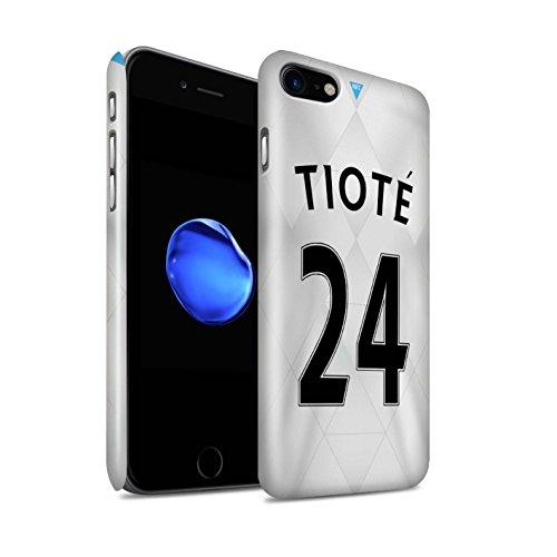 Officiel Newcastle United FC Coque / Clipser Brillant Etui pour Apple iPhone 7 / Dummett Design / NUFC Maillot Extérieur 15/16 Collection Tioté