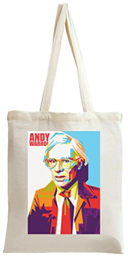 Andy Warhol Self Portrait Tragetasche (Portrait Andy Self Warhol)