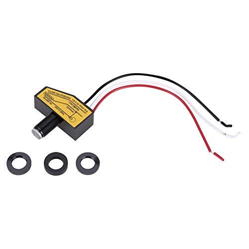 Eastbuy Fotozellen-Sensor - Mini-Lichtumschaltung Sensor Fernbedienung Fotozelle Dämmerung Bis zum Morgengrauen - Dämmerung Fotozelle